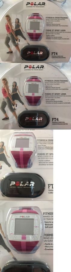 heart rate monitors 15277 polar ft4 heart rate monitor watch heart rate monitors 15277 new polar ft4 pink purple womens fitness heart rate monitor