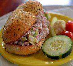 Sweet Smokey Ham Salad | Small Town Woman