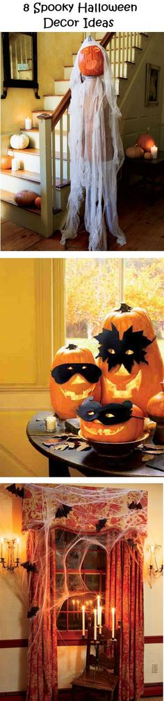DIY Halloween : IDEAS & INSPIRATIONS  Spooky Halloween Decor Ideas