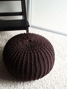 crochet pouf - need to find pattern!