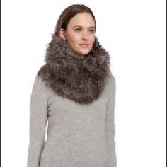 NWT French Connection Faux Fur Snood WKND SALE NWT French Connection Faux Fur Snood. Amazing faux fur snood -one size fits all. Silk lined.  No trades/ no pp. (115) French Connection Accessories Scarves & Wraps