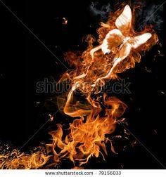 Fire butterfly by Kesu, via Shutterstock