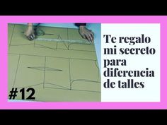 #12 👀👉Diferencia de Talles/Descubre la técnica más FÁCIL para este trazo. - YouTube Dress Neck Designs, Couture, Sewing Hacks, Videos, Tips, Pattern, Saatchi, Women's Fashion, Amor