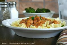 Kitchen Concoctions: Paprika Chicken Stroganoff #recipe #dinner #chicken