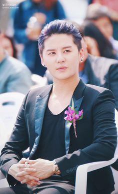 Kim Junsu at Toscana Hotel's Grand Opening Ceremony (140927)