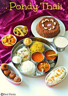 Desi Fiesta : Pondicherry Thali