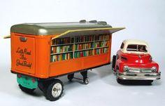 A little toy bookmobileteachingliteracy:    The Little Toy Bookmobile