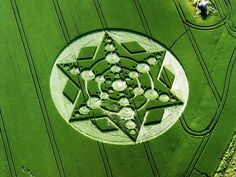 A Brief History Of The Worlds Coolest Crop Circles