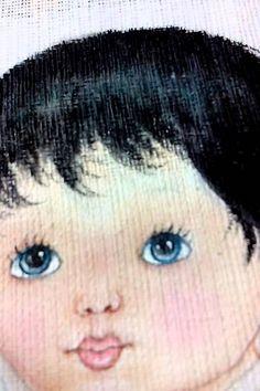 vídeo n 6 como pintar cabelinhos preto em fraldas