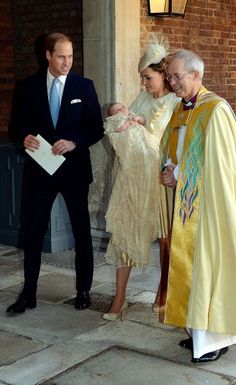 "Richard Palmer of the Express wrote that one of Reverend Welby's comments explained that ""The parents and godparents of Prince George have a simple task to 'make sure he knows who Jesus is."" 23 October 2013."