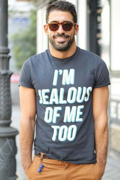 Funny Shirt and cool glasses