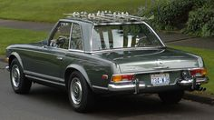 1970 Mercedes-Benz 280SL with accessory ski rack