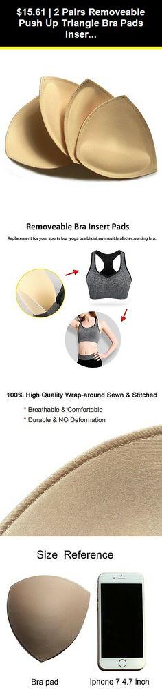 QW Bra Pads Inserts Removeable Smart Womens Comfy Sports Yoga Bra Cups