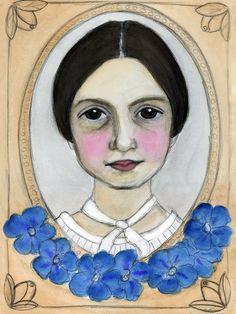 Emily Dickinson and the Geranium Blues