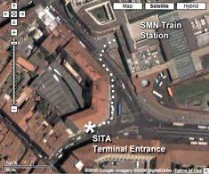 Sita Bus Depot in Florence (to Siena)