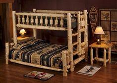 Cedar T/F - T/Q Bunk Beds