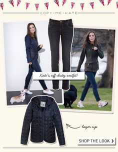 Copy Kate's off-duty outfit