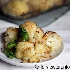 Roasted cauliflower. One of my favorite foods EVER