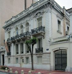 Facade Design, House Design, Old Greek, Villa, Athens Greece, Old Buildings, Neoclassical, Classic House, Multi Story Building