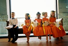 Ring bearer, outnumbered.