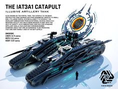 IAT3A1 Catapult Illusive Artillery Tank by Duskie360 on DeviantArt
