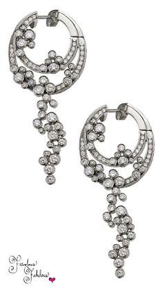 Frivolous Fabulous - Piguet Jewelry Haute Joaillerie Diamond Earrings Frivolous Fabulous Styled