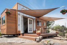 External inspo - cedar panels but with corrugated iron skirt