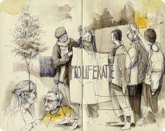 Pat Perry: New Sketchbook Works + Print Releases…