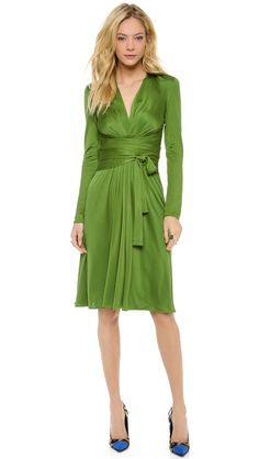 Professional Look for Work: Issa V Neck Front Wrap Dress.