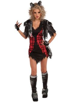She Wolf Costume, Sexy Werewolf Costume - Halloween Costumes at Escapade™ UK