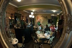 Great picture of Australia's Absinthe Salon.