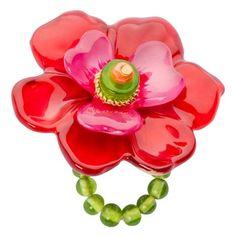 Lalo Treasures: Big red flower