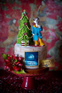 The magic is on Polar Express! - Cake by Veronica Seta