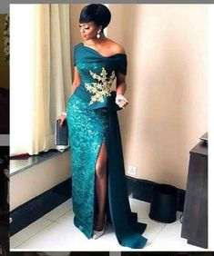 African Prom dress /African attire /African wedding dress /African formal dress /African fashion /African style Made with high quality fabric with zipper/dull face /African lace fabrics African Formal Dress, African Prom Dresses, Ankara Dress Styles, African Wedding Dress, African Attire, Nigerian Lace Dress, African Traditional Wedding Dress, African Weddings, Modern African Dresses