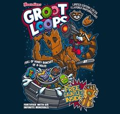 And, of course, Groot Loops. | These Cereals Based On Comic Book Characters Are Awesome