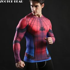 c0baae8a06f1d 2017 TOP sale Mens Boys Compression Armour Base Layer Long Sleeve Thermal  Under Top Tee Shirt New T shirt Fitness T shirt-in T-Shirts from Men s  Clothing ...