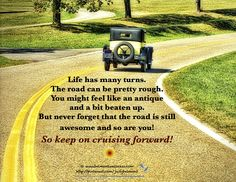 Keep cruising forward!