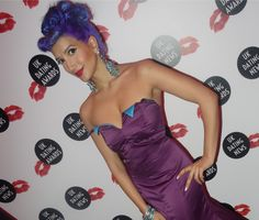 On the red carpet for the UK Dating Awards New Skin, Burlesque, Breast Cancer, Red Carpet, Strapless Dress, Awards, Dating, Star, How To Wear