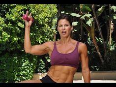 35 min Intermediate Total Body Dumbbell Workout - YouTube