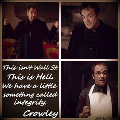 #Crowley #SPN