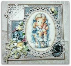 Magnolia cards by Barbara GR: Ribbons at Creative Inspirations Challenge