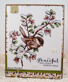 Chickadee in Barberry http://powerpoppy.com/collections/digital-stamps/products/chickadee-in-barberry