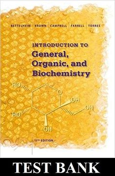 Test bank for organic and biochemistry for today 8th edition by introduction to general organic and biochemistry 11th edition test bank fandeluxe Choice Image