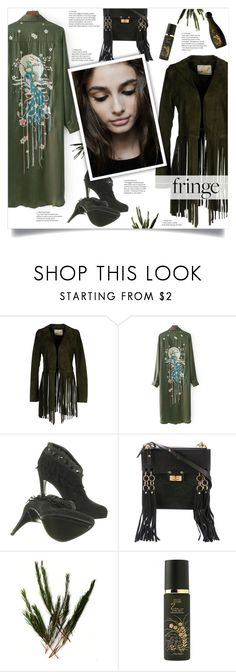 """""""Shimmy Shimmy: Fringe 2"""" by smajlovicelvira ❤ liked on Polyvore featuring VINTAGE DE LUXE, Christian Dior and Shiseido"""