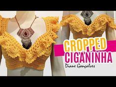 Top Cropped de Crochê – Gráficos, receitas e inspiração de modelos - Fashion Bubbles - Moda como Arte, Cultura e Estilo de Vida