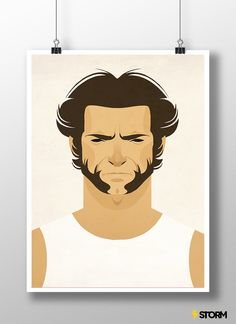 Poster Wolverine - StormShop - APENAS REFERÊNCIA - A3 - R$ 15