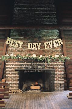 Perfect sign for a barn or rustic venue. Source: Laura Nelson Photography. #weddingsigns