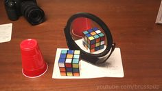 This Mind-Bending Optical Illusion Will Completely Mess With Your Sense Of Perspective Amazing Optical Illusions, Art Optical, Illusions Mind, Perspective, Do It Yourself Food, Arts And Crafts House, Apps, Illusion Art, Everyday Objects