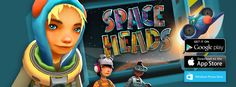 Banner from our F2P game Space Heads. This is for iOS, Android and Windows Phone (www.spaceheads.net)