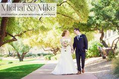 A destination Jewish wedding full of creativity, symbolism, and meaning at Fairmont Scottsdale Princess, Arizona, USA